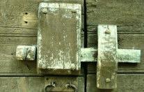 Limoges serrurier - Serrure antique en bois